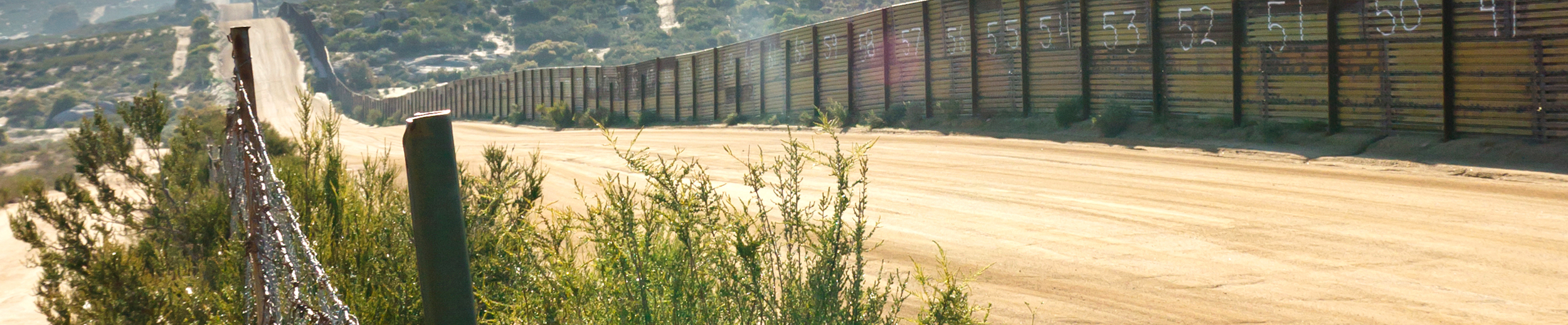 Opgal infrared surveillance cameras for border security