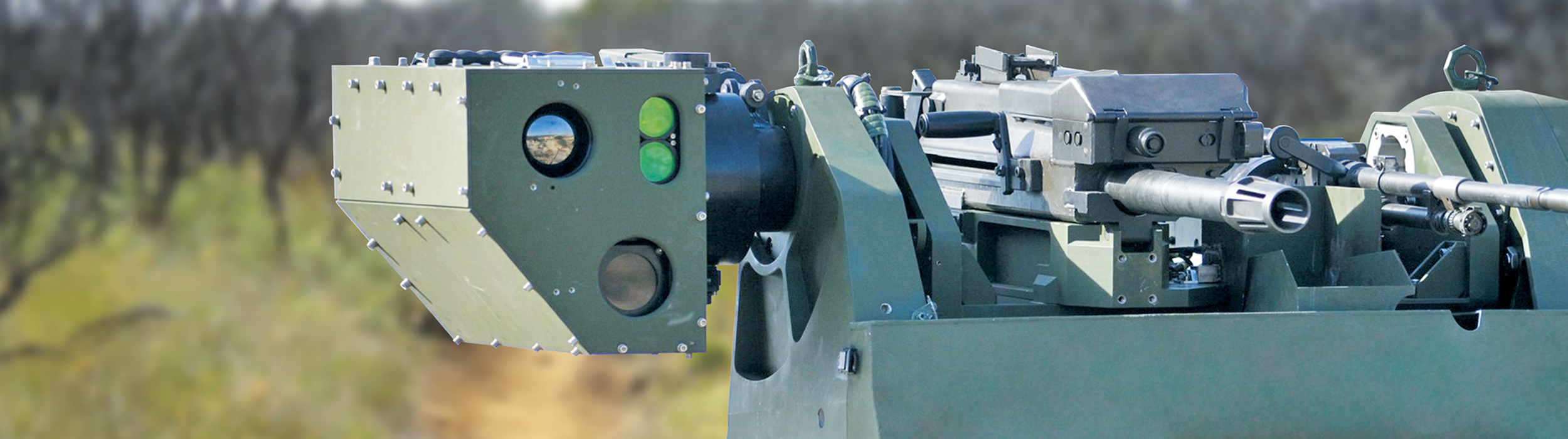Opgal military thermal cameras for weapon stations