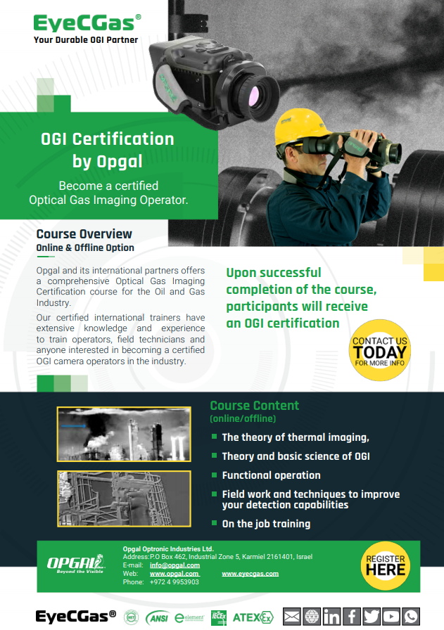 OGI Certification by Opgal